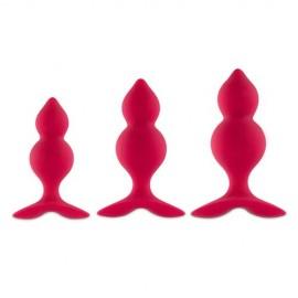 Plug Anale Bibi Twin di Feelztois rosa