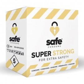 Preservativo Safe Super Strong Confezione da 5