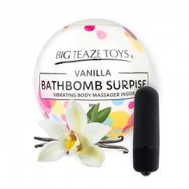 Bath Bomb Surprise, Palla Profumata di sali da Bagno con Vibratore Bath Bomb Surprise di Big Teaze Toys, in tre Gusto copertina