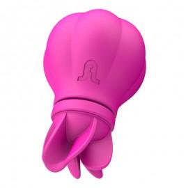 Vibratore Clitorideo con Rotazione Caress di Adrien Lastic copertina