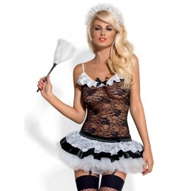 Housemaid Maid Costume Set of Obsessive Cover