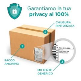 pacco 100% anonimo Lubrificante H2O di System Jo